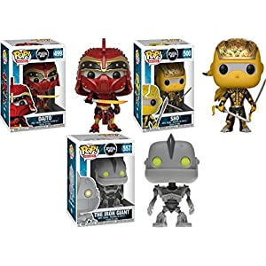 Funko POP Ready Player One Daito Shoto The Iron Giant Stylized Vinyl Figure Bundle Set NEW