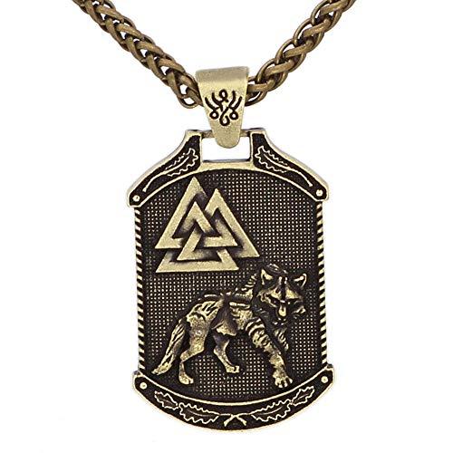 Nordic Viking Celtique Odin Logo Arbre De Vie Double...