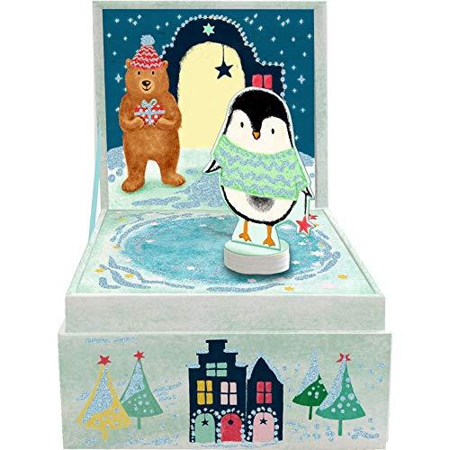 Die Spiegelburg 15073 Kleine Spieluhr Fröhl.Weihnachten (Leise rieselt der Schnee)
