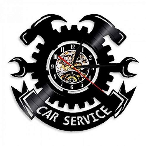 ttymei Taller de reparación de automóviles Reloj de Pared diseño ...