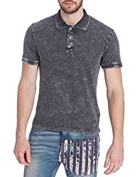 Jack & Jones Mens Cotton T-Shirt (5712834624615_Black_Medium)