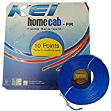 KEI-HOMECAB-FR 1.5 Sq.Mm PVC Insulated Single Wire-90M -Blue
