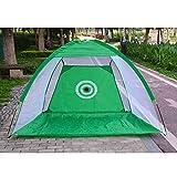 Panamami Indoor Golf Training Aids Portable Foldable Golf Hitting Cage Garden Grassland Golf