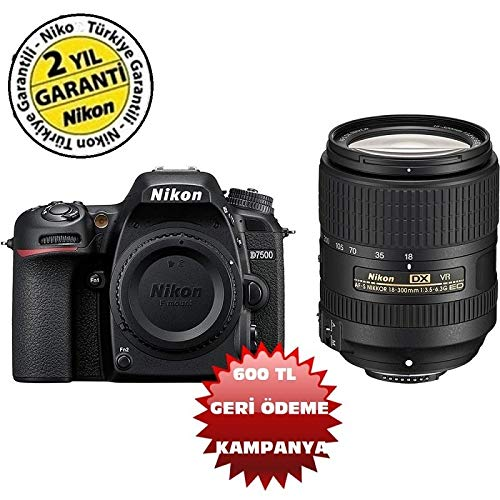 Nikon D7500 + AF-S DX NIKKOR 18-300 VR (Kit) Black