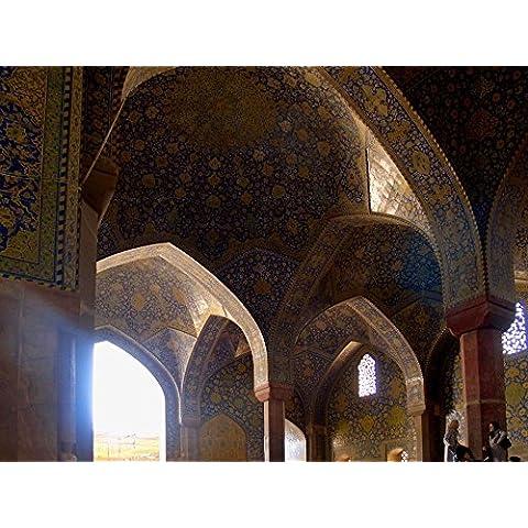 vinteja fotografia–Imam Khomeini Moschea di Isfahan,