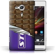 Coque de Stuff4 / Coque pour Sony Xperia SP/C5303 / Blocs Dairy Milk Design / Chocolat Collection