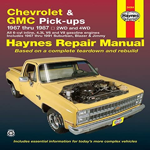 Chevrolet and GMC Pick-ups Automotive Repair
