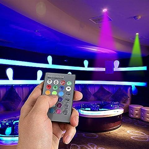 Con telecomando per cambiare il colore della luce, GU10-Lampadina a LED 16 colori cangianti
