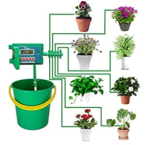 Yardeen 10 pots irrigation syst me automatique arrosage - Arrosage automatique jardin potager ...
