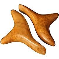 ThinkMax tradicional aromático madera herramientas de Vietnam cuerpo masaje, reflexología acupuntura terapia de masaje rodillo