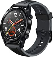 Huawei Watch GT Sport Rubber Strap, Graphite Black - FTN-B19