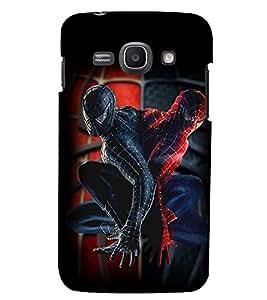 Printvisa Spider Man Replica Pic Back Case Cover for Samsung Galaxy Core i8262::Samsung Galaxy Core i8260
