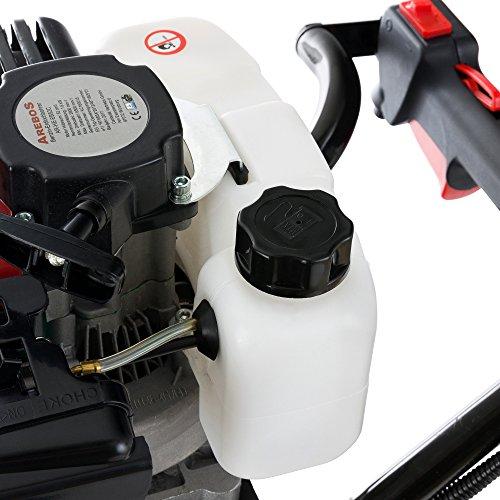 Arebos Erdbohrer Erdlochbohrer Pfahlbohrer Erdbohrgerät mit 2-Takt-Motor Benzin 52ccm 2,18 PS - 5