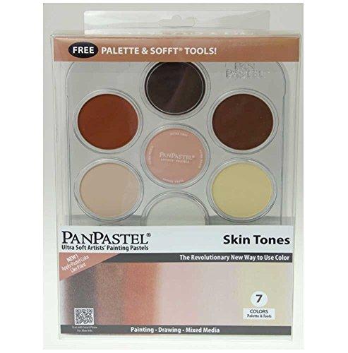Pan Pastel Sofft-tools (PanPastel Ultra Soft Artist Pastel Set 9ml 7/Pkg-Skin Tone)