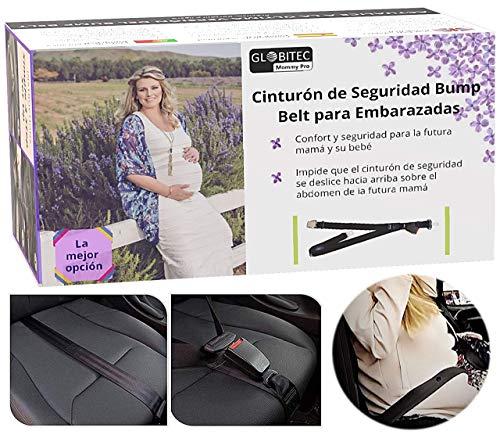 Adaptador de Cinturón de Seguridad para Embarazadas en Coche, Sin Botones de Prendas de Vestir Hebillas de Plástico o Cojines Inútiles