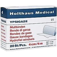 Ypsigaze Mullbinde 4 cmx4 m, 20 St preisvergleich bei billige-tabletten.eu