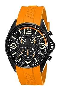 Torgoen Herren-Armbanduhr Quarz Orange T18305