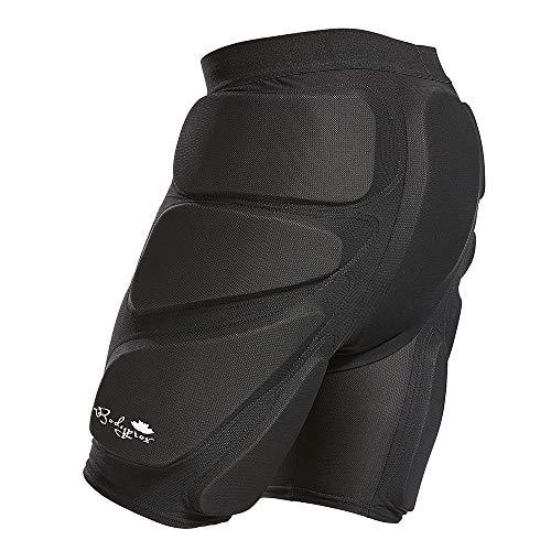 Bodyprox, Pantaloncini protettivi Imbottiti per Snowboard, Skate e Sci, Protezione 3D per Fianchi, Glutei e coccige, Cruz V2 Fresh Foam, Large