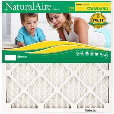 ACE Bundfaltenhose Ofen Air Filter (14 x 24 x 1) 12 Pack, naturalaire (12x24x1 Air Filter)