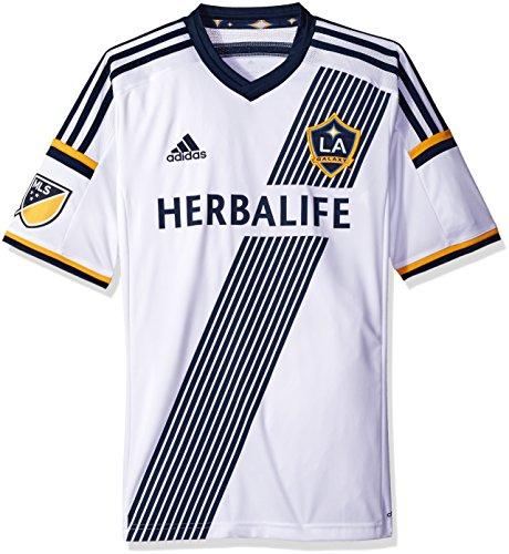 adidas Los Angeles Galaxy MLS Performance Replica Jersey Trikot - White - Galaxy Jersey