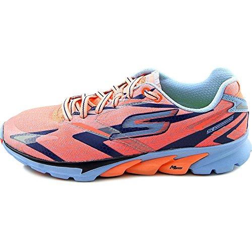Skechers GO Run 4, Chaussures de Running Compétition femme Rose