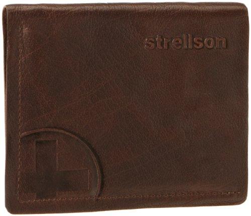Strellson Edwyn BillFold V6 4010000220 Herren Geldbörsen 10x12x1 cm (B x H x T), Braun (cognac 703) Braun (cognac 703)