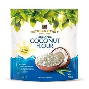 Terrafertil Nature's Heart Organic Coconut Flour, 1.8 kg