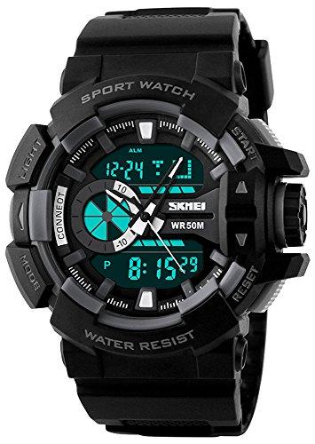 Skmei Analog-Digital Multicolor Dial Men's Watch -HMWA05S074C0