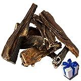 2 kg Rinderpansen getrockneter Pansen Blättermagen vom Rind Kausnack Leckerli