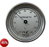 TFA Dostmann - Termometro per compost, colore acciaio/bianco