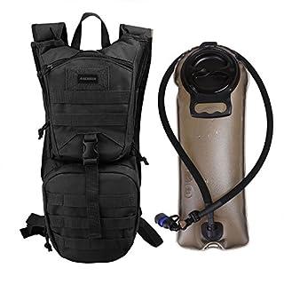 ANCHEER Trinkrucksack, Outdoor Hydration Rucksack 2.5l mit Trinkblase perfekt für Wandern Radfahren Joggen, Spazieren Klettern und Bergsteigen
