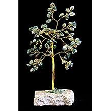 Albero del felicità in pietra di agata schiuma–80pietre–Consegna Gratuita