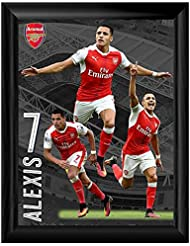 "16""x 12"" Framed Print - Arsenal F.C ""Sanchez"" (2016/17)"