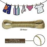 Clothesline Heavy Duty Wet Cloth Laundry...
