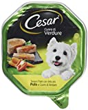 CESAR Set 14 CESAR Vaschetta 150 gr. umido patè pollo/cuore di verdure