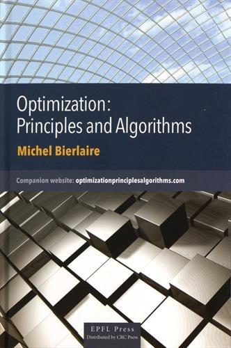 Optimization : principles and algorithms