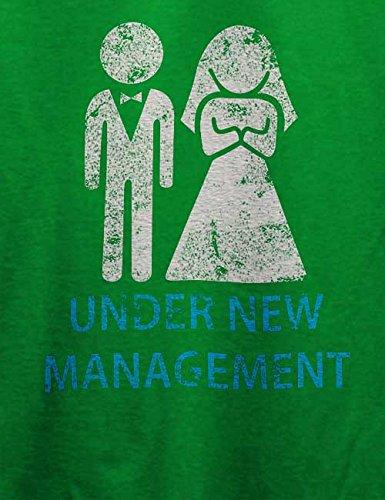Under New Management Vintage T-Shirt Grün