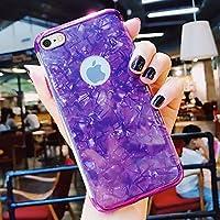 iPhone 8 Hülle,iPhone 7 Hülle,SainCat Dreistufig Plating Überzug Marmor Shell Muster TPU Schutz Handy Hülle für... preisvergleich bei billige-tabletten.eu