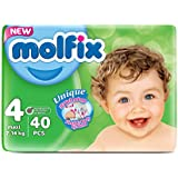 Molfix Twin 0 Couches 7-14 kg Taille 4