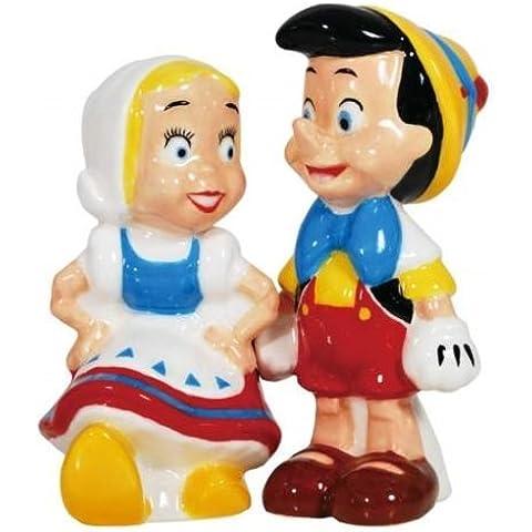 Salero y pimentero magnéticos - Disney - pinocho y muñeca de oficial juguetes 25602