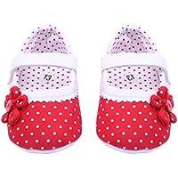 Xinantime Zapatos de bebé, Zapatos de Las Muchachas del Verano Flor Cuero de la PU