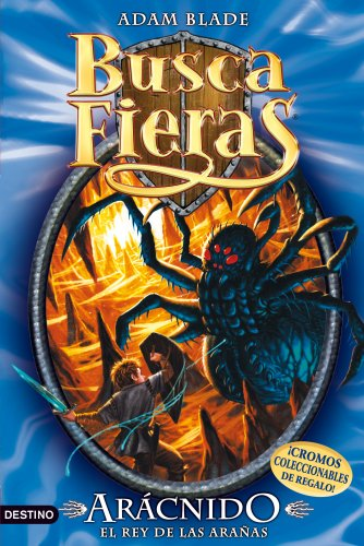Portada del libro Arácnido, el Rey de las arañas: Buscafieras 11