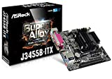 Asrock J3455B-ITX NA (integrated CPU) Mini ITX motherboard - motherboards (DDR3-SDRAM,DDR3L-SDRAM, SO-DIMM, 1333,1600,1866 MHz, Dual, 16 GB, Intel)
