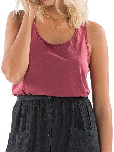 G.S.M. Europe - Billabong Damen Essential Tt T-Shirt Scarlet