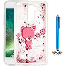 A9H Funda Transparente Dynamic Liquid Glitter Color Paillette Sand Quicksand arena movediza Star Back Cover Case para LG G4 Stylus2 LS775 shell -13HUA