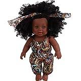 Poupée Afro-Américaine Réalistes Bébé Reborn Poupées Pour Enfants Enfants Cadeau De Noël Pouces Bébé Poupées Pour Enfants Jouets Pour Enfants Bébé Jouet De Poupée Africain De Jouet De Poupé 30CM...