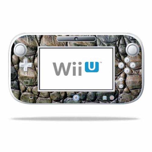 mightyskins Haut für Nintendo WII U Gamepad Controller schützende, strapazierfähigem, Ein Gator Skin Nintendo WII U Gamepad Controller (Tier Schützende)
