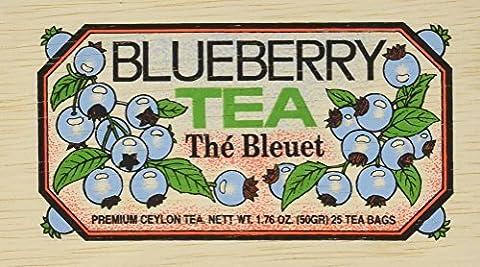 Metropolitan Tea Co Blueberry Box Of 25 by Metropolitan Tea Company