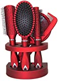 Unisex True Face Grooming Hair Brush Set Red - Best Reviews Guide