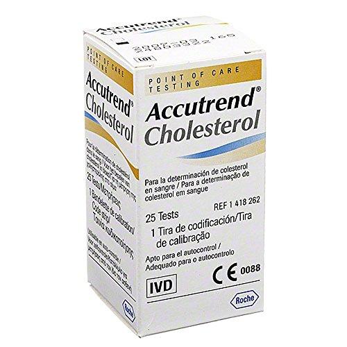 Accutrend Cholesterol Teststreifen, 25 St.